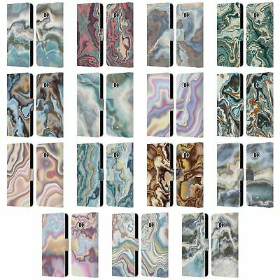 $24.78 • Buy Official Andi Greyscale Abstract Agate Leather Book Wallet Case For Htc Phones 1