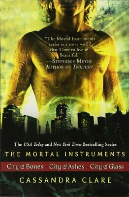 The Mortal Instruments: City Of Bones; City Of Ashes; City Of Glass • 35.67£