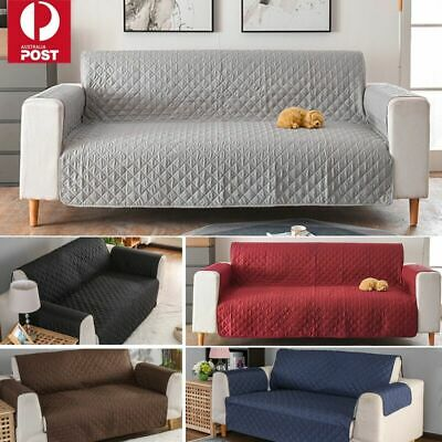 AU28.59 • Buy Sofa Cover 1/2/3 Seater Waterproof Couch Lounge Protector Slipcovers Pet Dog