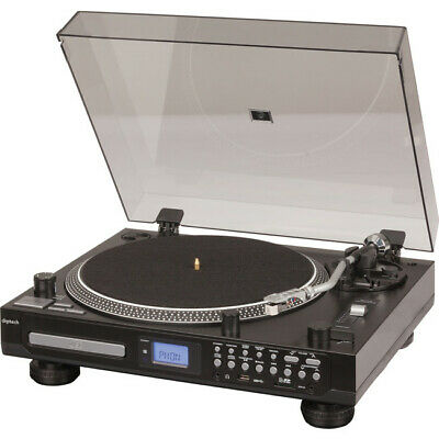 AU272 • Buy GE4107 DIGITECH Turntable With CD Player Record To USB SD Bluetooth