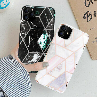 AU7.99 • Buy For IPhone 11 Pro Max Case Soft TPU Case Marble Shockproof Silicone Gel Cover