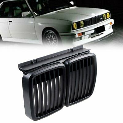 $19.99 • Buy Matte Black Front Kidney M3 Grill Grille For 1982-94 BMW E30 3-Series 318i 325i