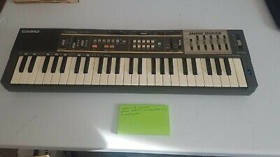$79.99 • Buy Casio Casiotone MT-100 Vintage Synth Mini Keyboard 80s Sounds Beats - Tested