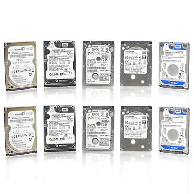 $ CDN133.96 • Buy Lot Of 10 Assorted Brands 2.5  320GB SATA Laptop HDD Hard Drive - Tested & Wiped