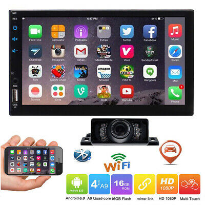 AU240.98 • Buy Android 10.0 Double 2 Din 7  Car GPS No DVD Player Head Unit Stereo Radio MP5 CD