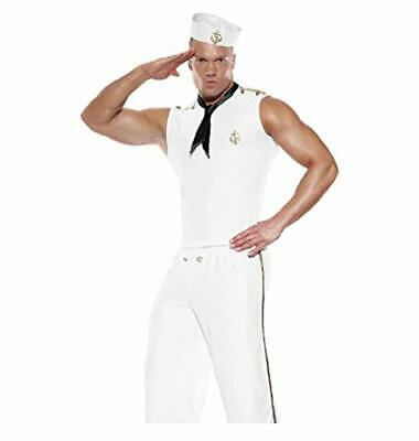 Super Sexy Tight Fitting Men Sailor YMCA Cosplay Fancy Dress Costume (M) • 29.99£