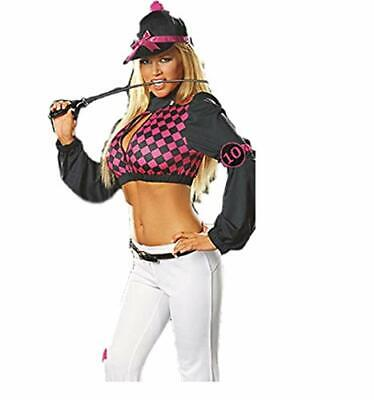 Sexy Equestrian Horse Riding Jockey Female Outfit Costume (M Size 8 - 10) • 19.99£