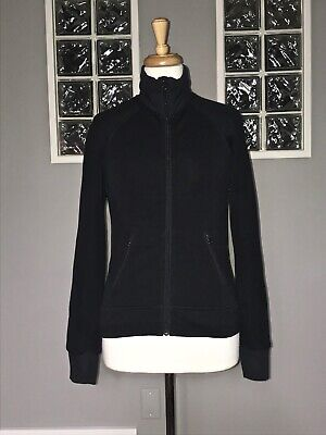 $ CDN75 • Buy Lululemon Keep It Cozy Jacket 4 Black Polartec Power Stretch Euc