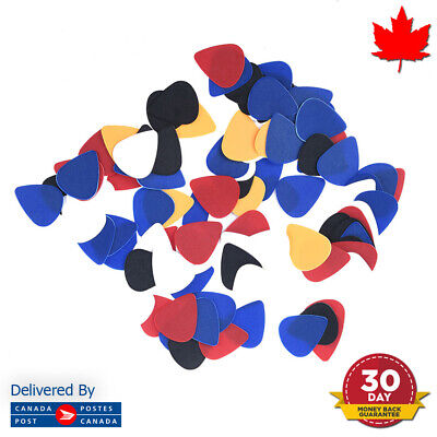 $ CDN3.32 • Buy Guitar Picks Assorted Random Colors Plectrums 10/20 Packs