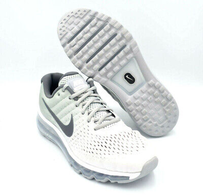Nike Air Max 2017 Running Shoes White / Wolf Gray Mens [849559-101] Multi Size • 107.95$