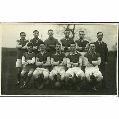 Real Photograph Postcard Football Team • 7.50£