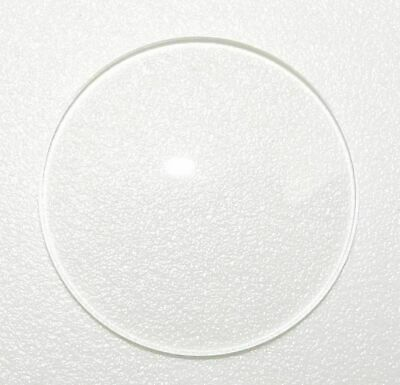 £6.20 • Buy Watch Glass Mineral Crystal - Domed Flat Bottom SD - 1.5mm Thick 23mm To 50mm