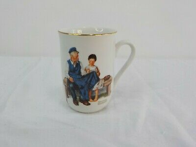 $ CDN12.44 • Buy Vintage 1982 Norman Rockwell Museum   The Lighthouse Keeper's Daughter  Cup Mug