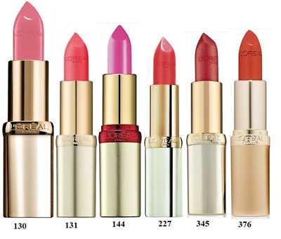 £4.99 • Buy L'OREAL COLOR RICHE LIPSTICK - Choose Your Shade        MULTI-BUY SAVE UP TO 10%