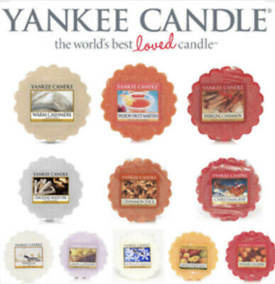 Yankee Candle Scented Wax Tart Melt Variety - Same Day Dispatch - Fast Delivery • 2.25£