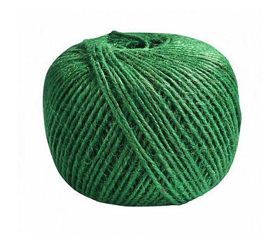 £5.95 • Buy 130m Ball Jute String Green Twine Shabby Rustic Soap Gift Decoration Vintage
