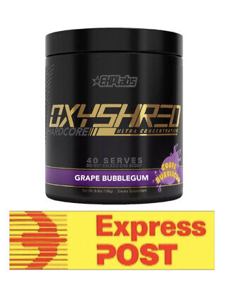 AU69.69 • Buy Oxyshred Hardcore Most Potent Thermogenic Fat Burner Ehplabs Oxy Shred