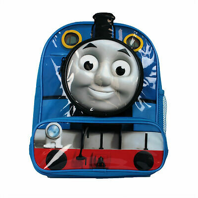 £10.99 • Buy  Official Thomas The Tank Engine Boys 3D 2 Front Pockets Novelty Backpack Bag