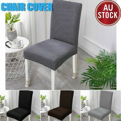 AU39.99 • Buy Super Stretch Dining Chair Covers Removable Slipcover Washable Banquet Furniture