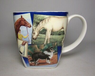 Past Times  Horses  Square Mug In Excellent Condition • 11.50£