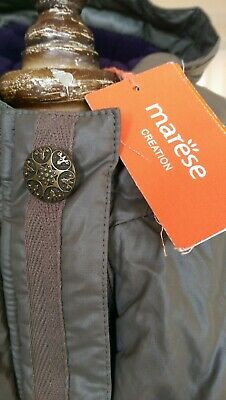 SAVE£40 New Marese Designer Rrp£68.99 Girls Olive Coat 4yrs Fleece Lined BNWT • 28.99£