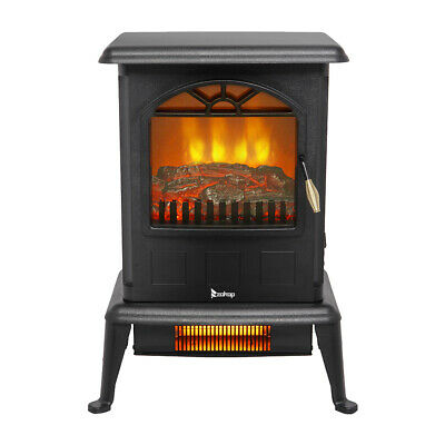 $69.11 • Buy Infrared Heater Space Heater Fireplace Stove Portable Infrared Quartz Large Room