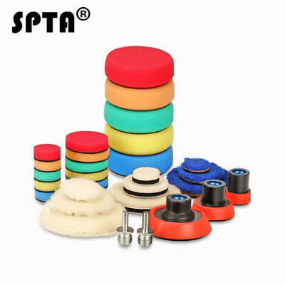 $9.99 • Buy SPTA 29 Polishing Pads Buffing Pads Woolen Pads Backing Plate For Car Polisher