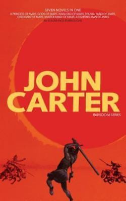 John Carter: Barsoom Series [7 Novels] A Princess Of Mars; Gods Of Mars; Warlord • 20.58$