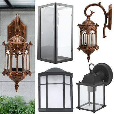 E 27 Wall Sconce Light Retro Antique Vintage Rustic Lantern Lamp Fixture Outdoor • 16.59£