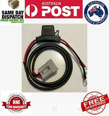 AU32.50 • Buy 1 Meter Fused CARAVAN CAMPER CHARGING KIT ANDERSON STYLE PLUG WITH 8M LUGS