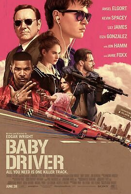 £16 • Buy BABY DRIVER MOVIE POSTER  A5..A4.. A3.. A2.A1. Options