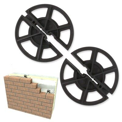CAVITY WALL INSULATION CLIPS & TIES Retaining Housing Building Extension Flat UK • 12.88£