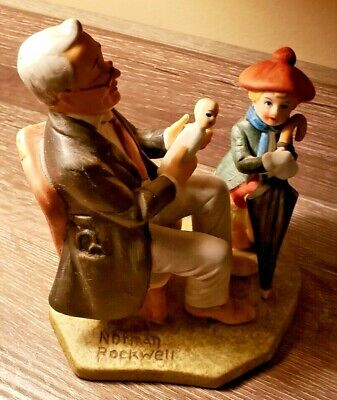 $24.99 • Buy Vintage Norman Rockwell Collector's Club - 1980  Doctor And The Doll  Figurine