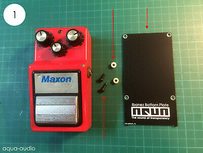 $ CDN9.23 • Buy Bottom Plate Replacement Kit For Ibanez And Maxon Guitar Pedals