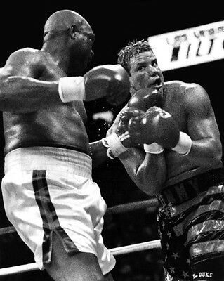 £3.63 • Buy 1993 TOMMY MORRISON Vs GEORGE FOREMAN Glossy 8x10 Photo Title Fight Poster Print