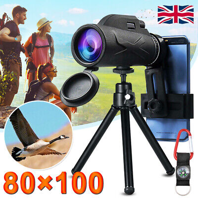 60x60 Day/Night Military Army Zoom Powerful Binoculars Optics Hunting Camping UK • 18.49£