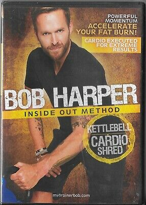 Bob Harper Inside Out Method – KettleBell Cardio Shred Workout Cardio (DVD, 2010 • 14.13£
