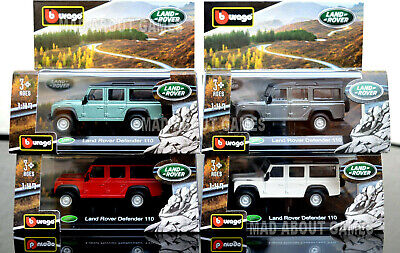LAND ROVER DEFENDER 110 1:47 Car Model Cars Die Cast Metal Miniature Toy Models • 15.87£