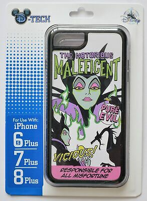 AU33.40 • Buy Disney Parks The Notorious Maleficend Iphone 6S/7/8 Plus Case New In Package