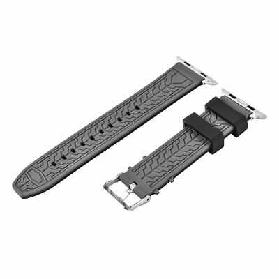 $ CDN26.07 • Buy Apple Watch Series 2 / 1 42mm Replacement Silicone Sports Bracelet Strap Buckle