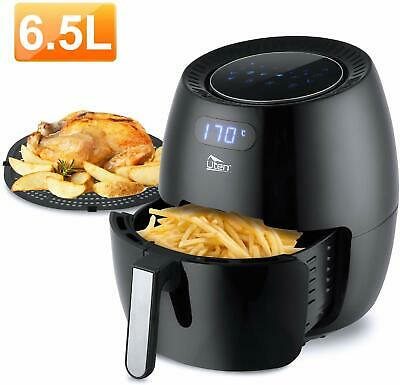 View Details 6.5L Air Fryer Digital LCD Display Low Fat Healthy Cooker Oil Free Frying Chip   • 52.99£