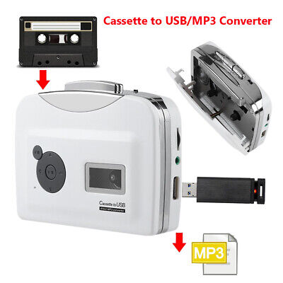 £20.78 • Buy Tape To PC USB Cassette To MP3 Converter Capture Adapter Audio Music Player MINI