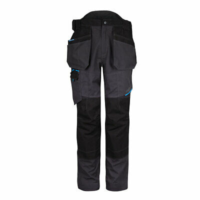 £48.99 • Buy Holster Builders Plumbers Workwear Trousers Portwest WX3 With Knee Pads