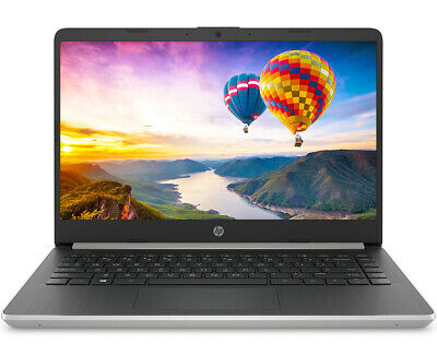 "View Details NEW HP 14"" Intel Core I5-1035G4 3.70GHz 10th Gen 128GB SSD 4GB RAM Win 10 Silver • 319.99$"
