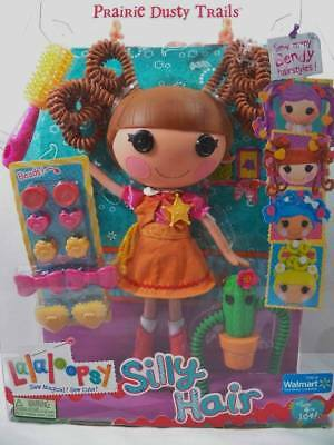 $19.95 • Buy ~MGA~ Lalaloopsy Silly Hair Prairie Dusty Trails Full Size Doll NEW