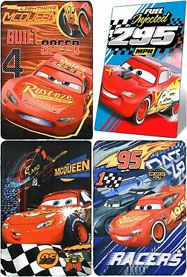 Official Disney Cars Boys Blanket Kids Polar Fleece Character Throw Warm Fluffy  • 6.99£