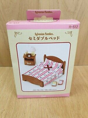 Sylvanian Families Furniture Bedroom Set - 512 JAPANESE Import. BNIB EPOCH. • 23.99£