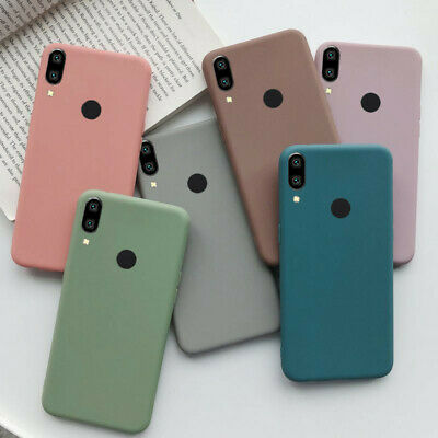 $2.18 • Buy For Xiaomi Redmi 8A Note 8 7 6 5 Pro Slim Soft Silicone TPU Frosted Case Cover