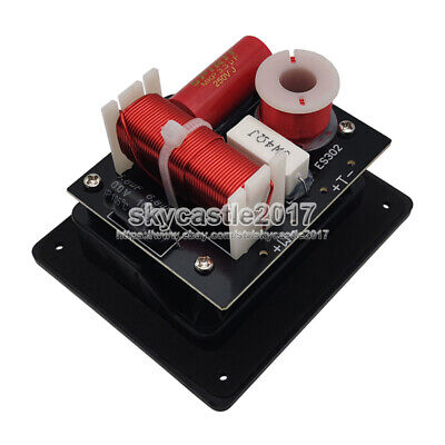 $ CDN39.35 • Buy 2pcs 2 Unit 2 Way Speaker Frequency Divider Crossover Filters With Junction Box