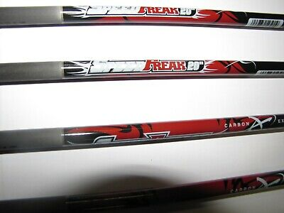 $29.95 • Buy 6 Carbon Express Speed Freak 20  Crossbow Bolts 310 Grains HALF MOON NOCK ONLY